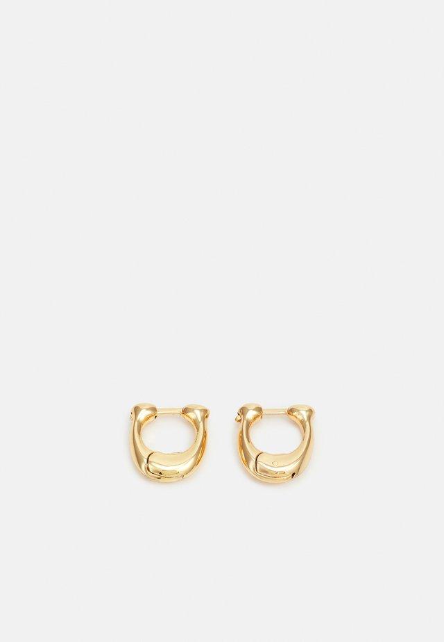 SIGNATURE HUGGIE - Boucles d'oreilles - gold-coloured