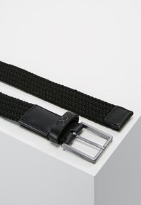 Calvin Klein - FORMAL ELASTIC BELT - Cintura - black - 2