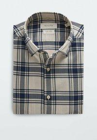 Massimo Dutti - SLIM FIT - Shirt - beige - 4