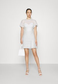 Nly by Nelly - FLOUNCE DRESS - Cocktail dress / Party dress - white - 1