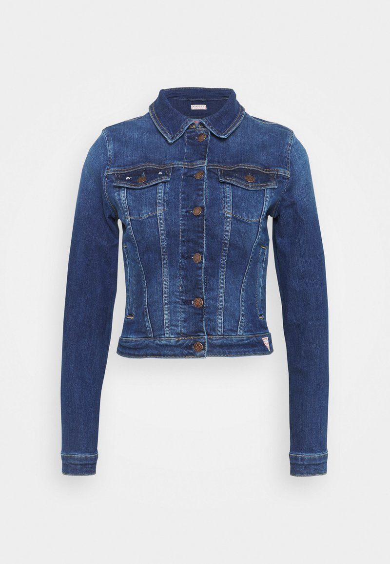 Guess - SEXY TRUCKER JACKET - Denim jacket - carrie mid