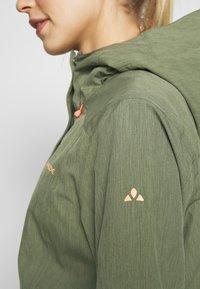 Vaude - ROSEMOOR - Hardshell jacket - cedar wood - 4