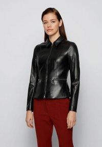 BOSS - Leather jacket - black - 0