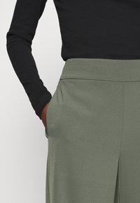InWear - ZHEN CULOTTE - Trousers - beetle green - 3