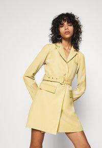 4th & Reckless - BLAZER DRESS - Shirt dress - pistachio - 0