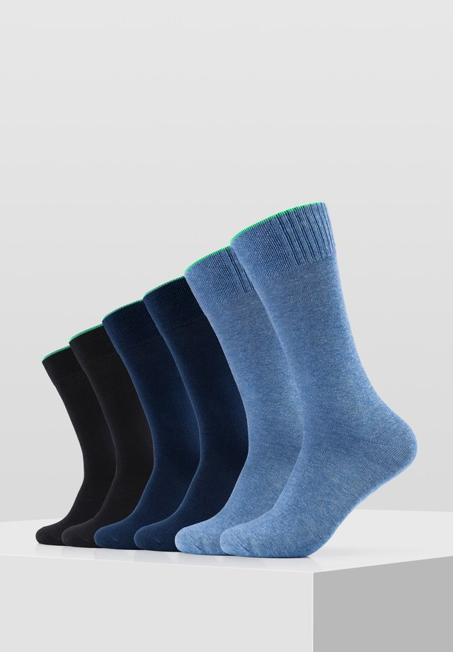 6PACK - Socks - blue