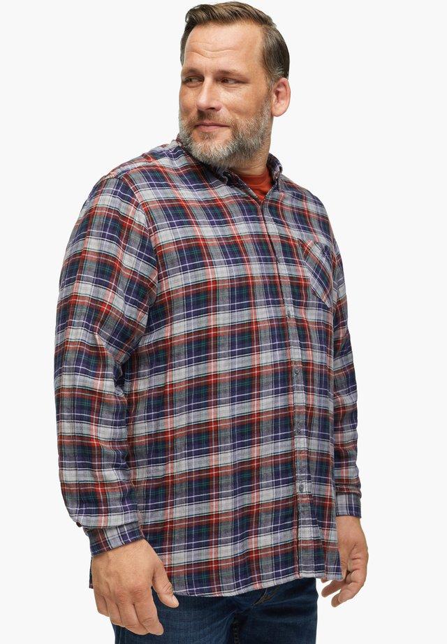 Shirt - light grey check