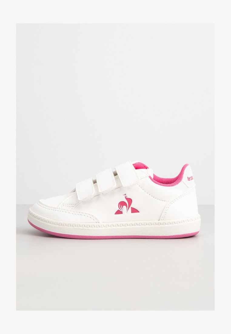 le coq sportif - MATCHPOINT - Trainers - optical white/pink carnation