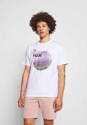 LIFE - Print T-shirt - white