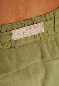 Under Armour - POLAR PANT - Friluftsbukser - outpost green/elite beige/beta red - 7