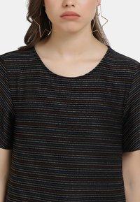 myMo - SHIRT - Print T-shirt - schwarz multicolor - 3