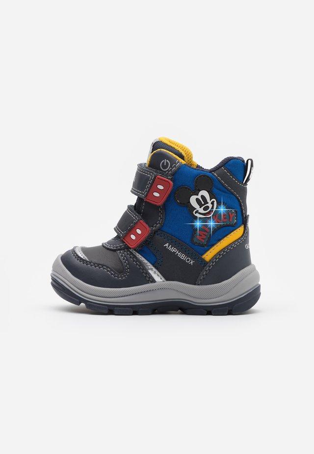 DISNEY FLANFIL BOY ABX - Zimní obuv - navy/royal