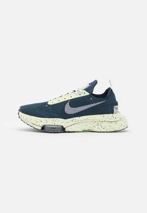 AIR ZOOM TYPE CRATER - Sneakers basse - armory navy/white/light lemon twist/black