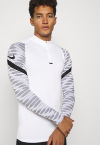 Nike Performance - Sports shirt - white/black/black/black - 3