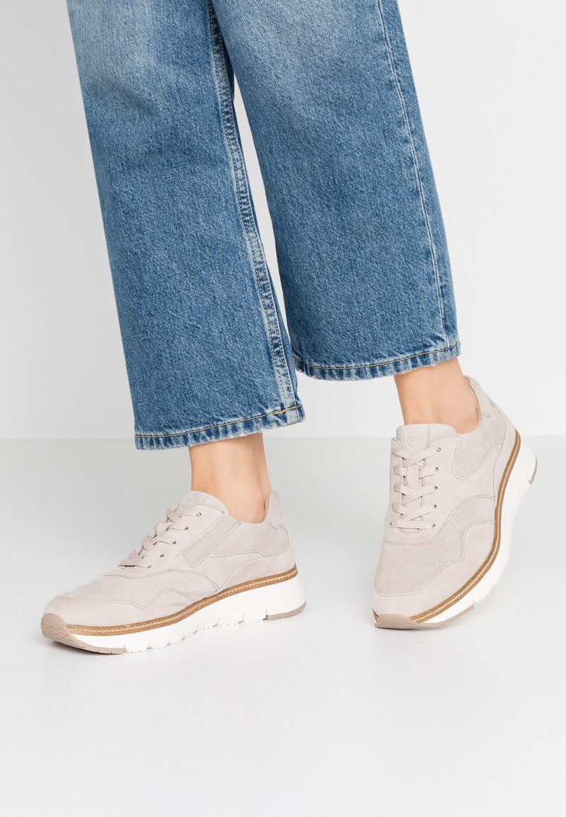 Tamaris Pure Relax - LACE-UP - Sneakersy niskie - beige