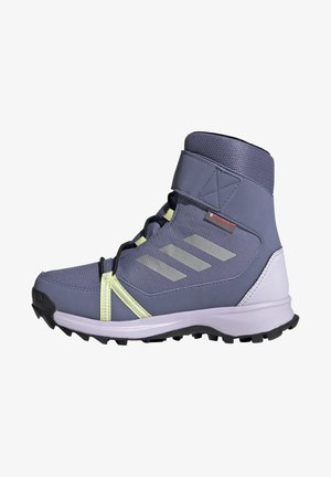 TERREX SNOW CF HIKING FOUNDATION COLD.RDY RAIN.RDY TRAXION SHOES HIGH - Talvisaappaat - orbit violet/silver met/purple tint