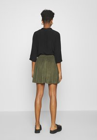 Vila - VICHOOSE  - A-line skirt - forest night - 2