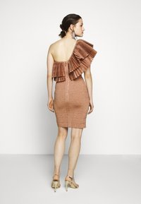 Hervé Léger - FRINGE GOWN - Cocktail dress / Party dress - rose gold - 2