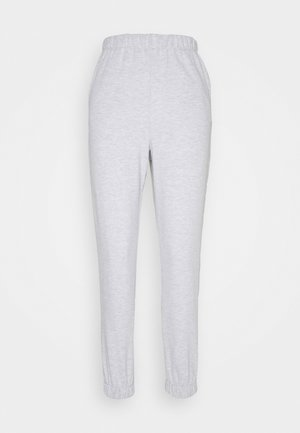 HIGHWAISTED TRACKPANT - Tracksuit bottoms - silver marle