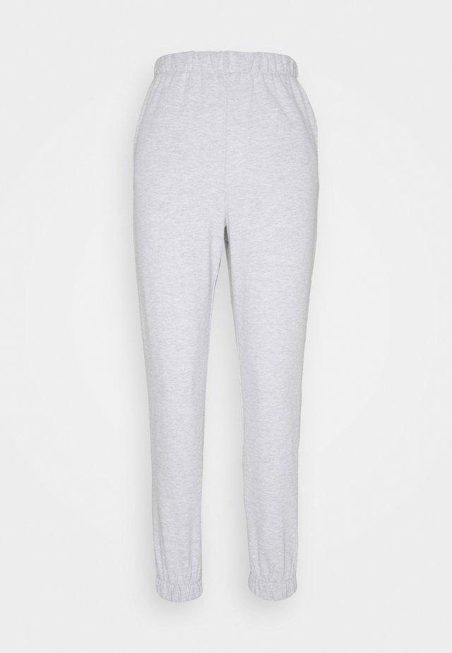 HIGHWAISTED TRACKPANT - Verryttelyhousut - silver marle