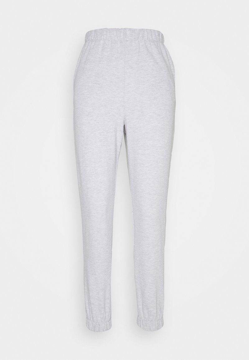 Cotton On - HIGHWAISTED TRACKPANT - Tracksuit bottoms - silver marle