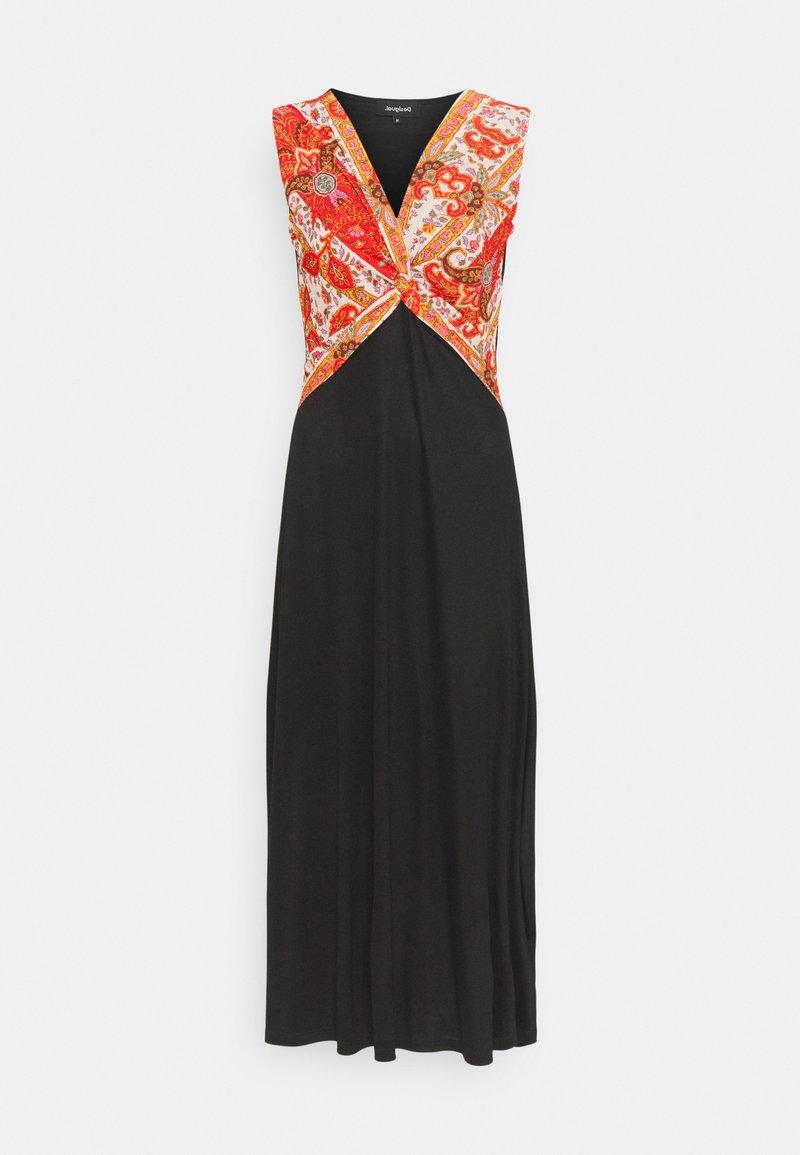 Desigual - YAKARTA - Długa sukienka - black
