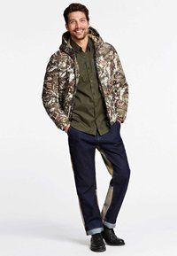 Guess - HOHEM  - Giacca invernale - brown, olive - 1