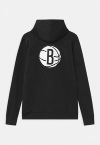 Nike Performance - NBA BROOKLYN NETS SPOTLIGHT UNISEX - Klubové oblečení - black - 1