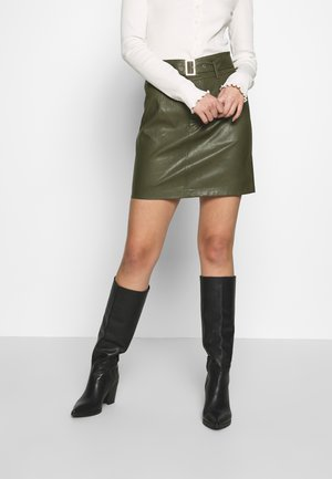 ONLKIERA SKIRT - Mini skirt - grape leaf