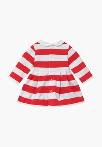 Tommy Hilfiger - BABY RUGBY STRIPE - Day dress - red - 1