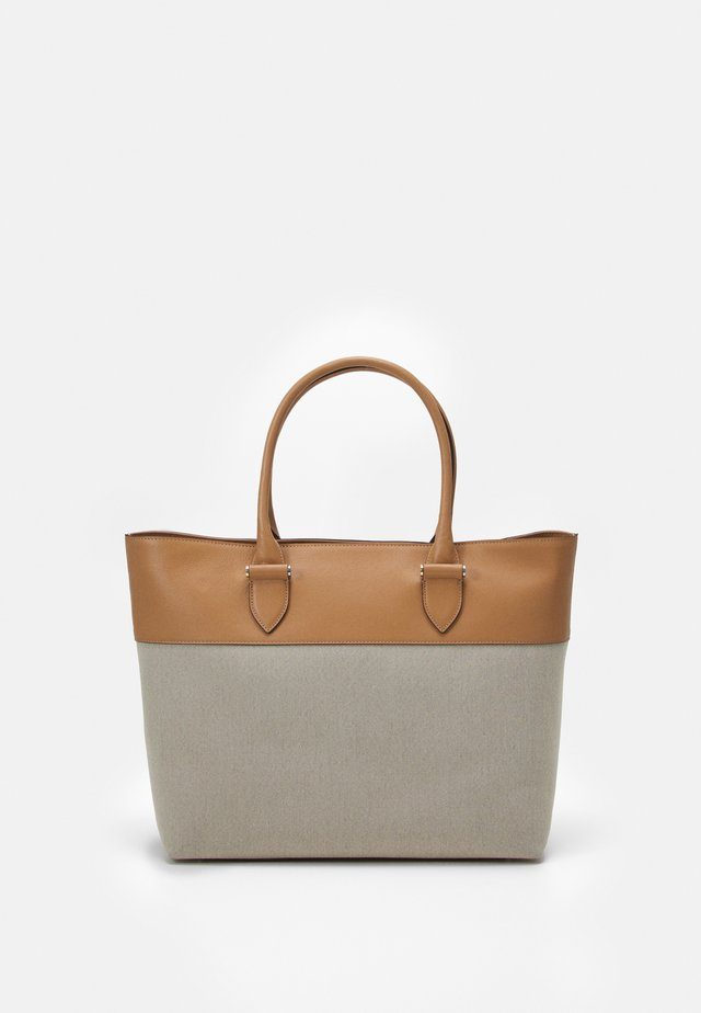Shopping bag - camel