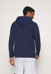 Nike Performance - PARIS ST GERMAIN HOODIE - Club wear - midnight navy/university red - 2