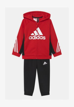 SET UNISEX - Trainingsanzug - scarlet/black