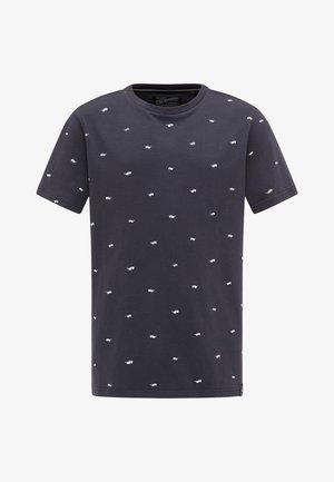 T-shirt con stampa - deep navy