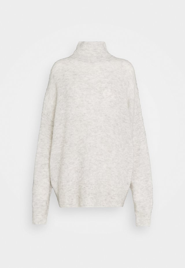 JACI TURTLENECK  - Strikkegenser - light grey