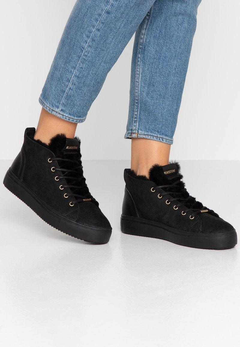 Blackstone - Sneakers high - nero