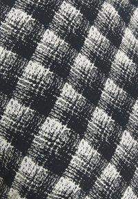 Proenza Schouler White Label - SHEER DRESS - Jersey dress - ecru/black - 7