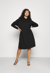 Noisy May Curve - NMHELENE DRESS - Denní šaty - black - 0