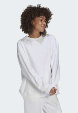 SWEATSHIRT ORIGINALS ADICOLOR PULLOVER RELAXED - Sweatshirt - white