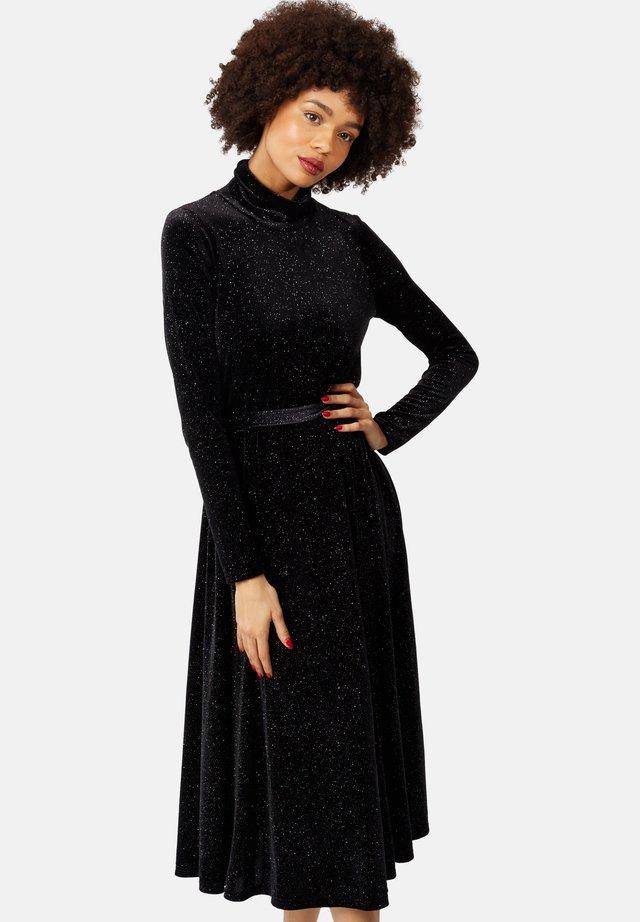 BROKEN STRINGS LONG SLEEVE - Cocktail dress / Party dress - black