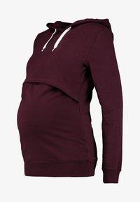Zalando Essentials Maternity - Hættetrøjer - winetasting - 4