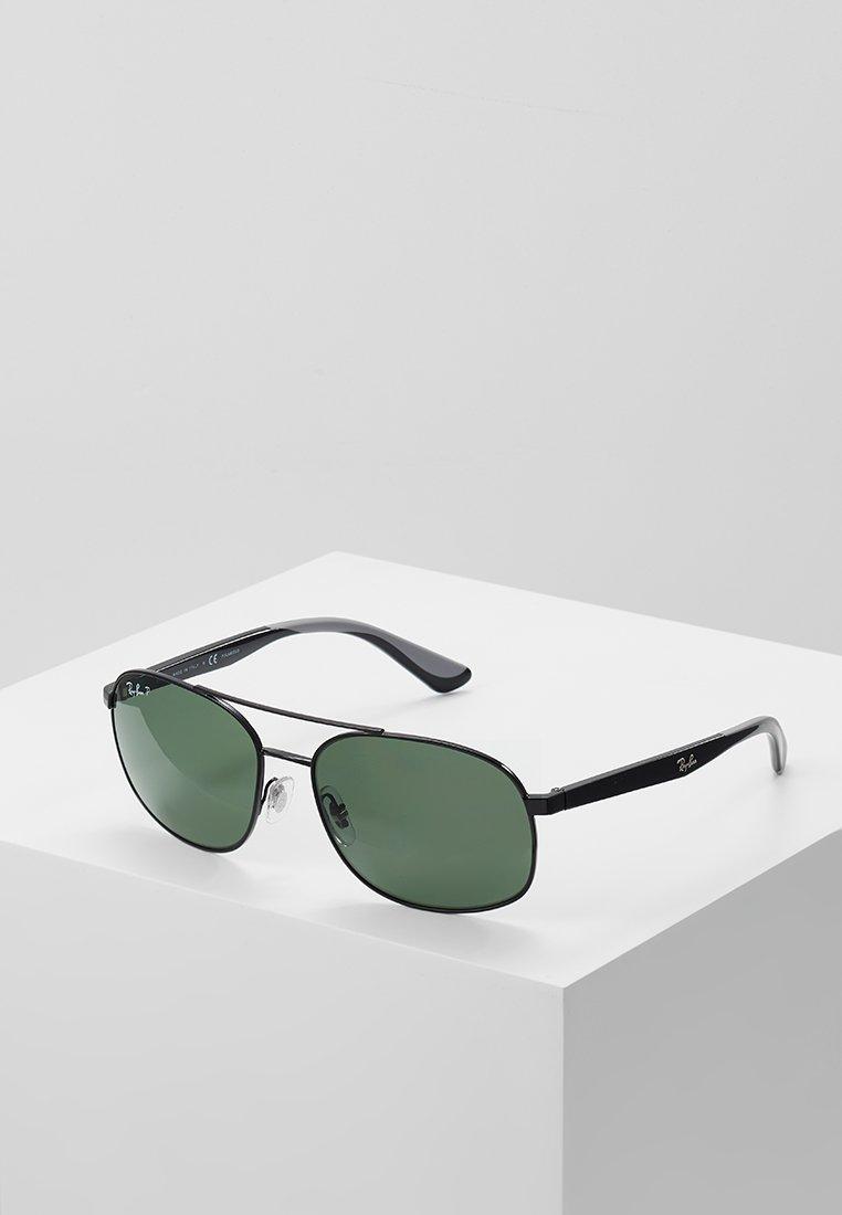 Ray-Ban - Sluneční brýle - black/polar green