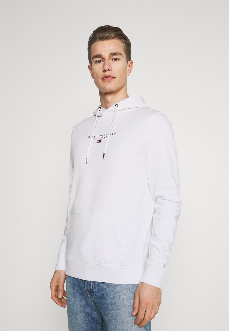 Tommy Hilfiger - ESSENTIAL HOODY - Sweat à capuche - white