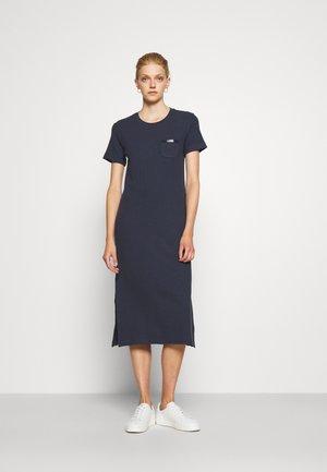 MANALI DRESS - Sukienka koszulowa - metallic blue