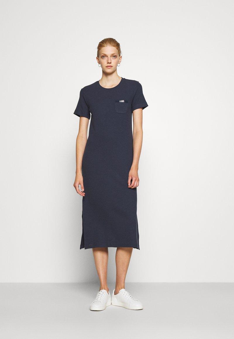 Barbour International - MANALI DRESS - Sukienka koszulowa - metallic blue