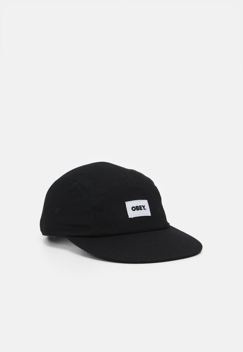 Obey Clothing - BOLD LABEL PANEL HAT UNISEX - Lippalakki - black