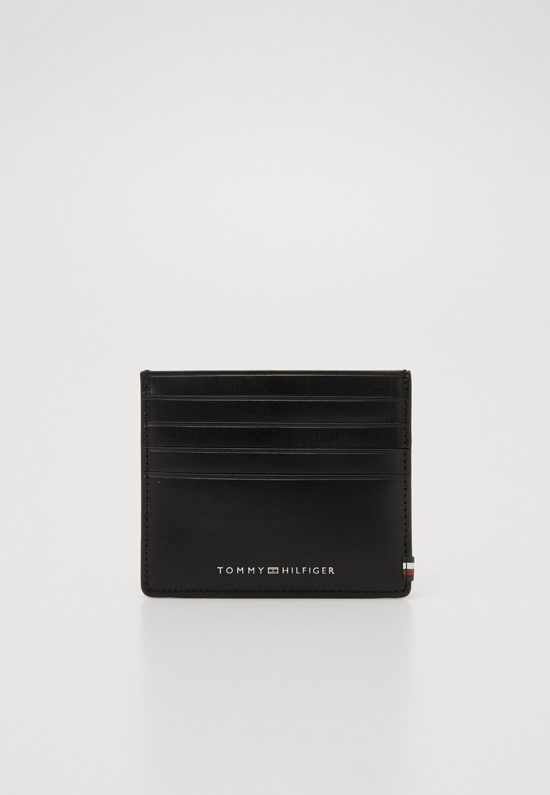 Tommy Hilfiger - POLISHED SLIDE HOLDER - Wallet - black