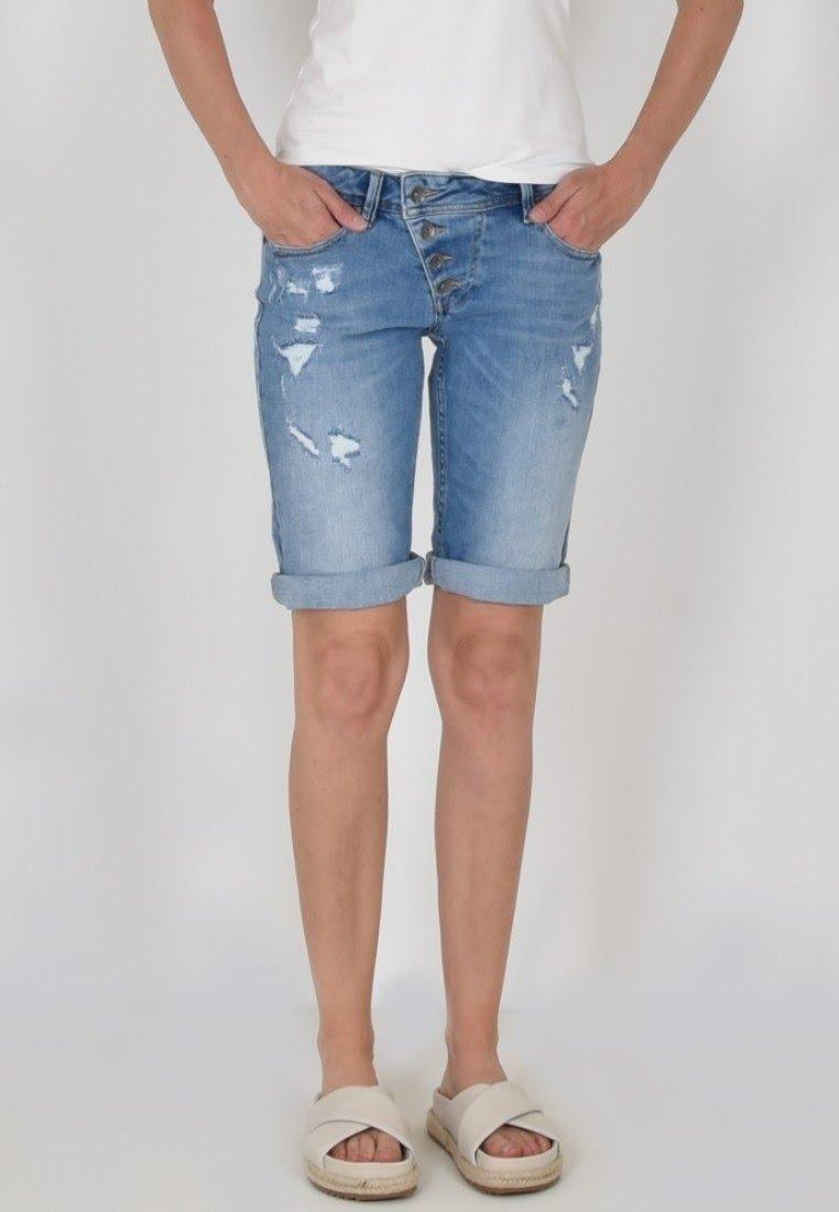 Buena Vista - Denim shorts - denim repair