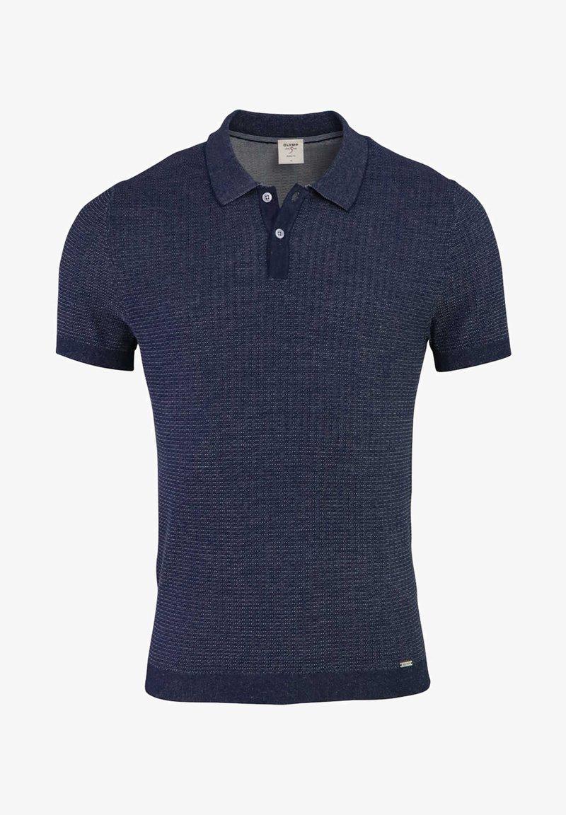 OLYMP - Polo shirt - dunkelblau