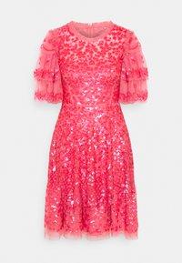 Needle & Thread - SEREN MINI DRESS - Koktejlové šaty/ šaty na párty - watermelon pink - 4